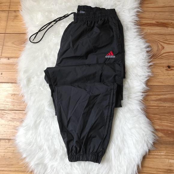 0ab5811fd83f8 adidas Pants | Vintage Nylon Joggers | Poshmark